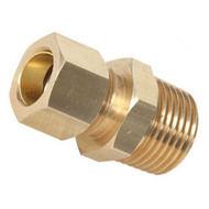 Male Union Brass Compression Fittings (Package of 10)