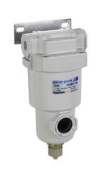 "PneumaticPlus SAMD150 Series Micro Mist Separator, 0.01 Micron 1/4"" NPT with Bracket"