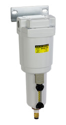"PneumaticPlus SAMD350 Series Micro Mist Separator, 0.01 Micron 3/8"" NPT with Bracket (SAMD350-N03BD-MEP)"