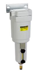 "PneumaticPlus SAMD350 Series Micro Mist Separator, 0.01 Micron 1/2"" NPT with Bracket (SAMD350-N04BD-MEP)"