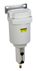 "PneumaticPlus SAMD550 Series Micro Mist Separator, 0.01 Micron 3/4"" NPT with Bracket (SAMD550-N06BD-MEP)"