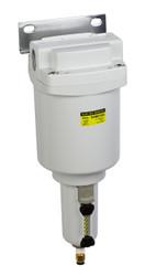 "PneumaticPlus SAMD550 Series Micro Mist Separator, 0.01 Micron 1"" NPT with Bracket (SAMD550-N10BD-MEP)"