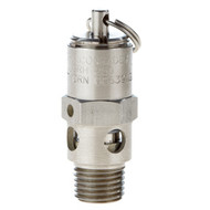 "ASME Hard Seat Stainless Steel Safety Valve 1/4"" NPT"