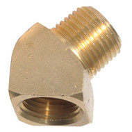 45° Street Elbow Brass Pipe Fittings