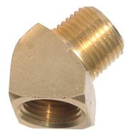 45° Street Elbow Brass Pipe Fittings
