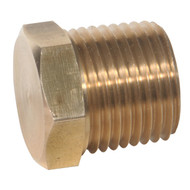 Hex Head Plug (Package Quantity Varies by Size)