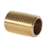 Brass Nipple (Package Quantity Varies by Size)