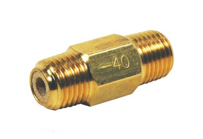 "1//2/"" Compact Air Filter Desiccant Dryer Filter w// 40 Micron Brass Filter Element"