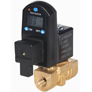 Electronic Timer Controlled Condensate Drain Large Orifice - Non-Clogging - Digital Timer