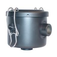 "3/4"" FPT Vacuum Filter 5 Micron Cloth Element 24 SCFM"