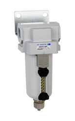 "PneumaticPlus SAFD400 Series Coalescing Air Filter, 0.01 Micron 3/4"" NPT with Bracket SAFD400-N06B-MEP"
