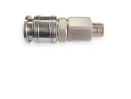 Universal Stainless Steel Male Coupler
