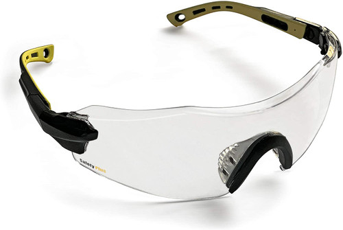 SafetyPlus SPG801CL  Safety Glasses Clear Lens