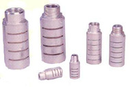 "Arrow Pneumatics Super Quiet Flow Heavy Duty Metal Silencer Muffler 1/2"" NPT Male (Package of 5) - ASQF-4M"