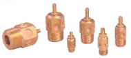 "Arrow Pneumatics Brass Speed Control Muffler 1/2"" NPT (Package of 10) - ASP-4SC"
