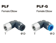 Push to Connect Composite Air Fitting - Female Elbow