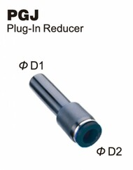 Push-To-Connect Fitting - Plug-In Reducer