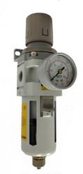 Pneumaticplus Air Filter Regulator Piggyback Style 1 2 Quot Npt