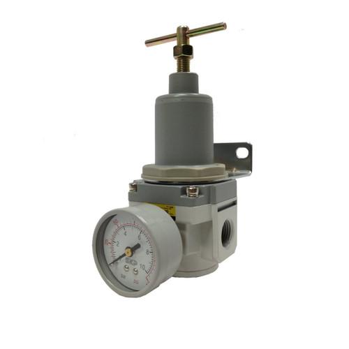 PneumaticPlus SAR4000T-N06BG Air Pressure Regulator T-Handle 3/4 NPT