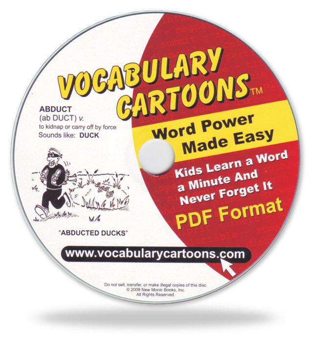 Vocabulary Cartoons, Elementary Edition PDF Format