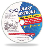 Vocabulary Cartoons, SAT Word Power PDF Format