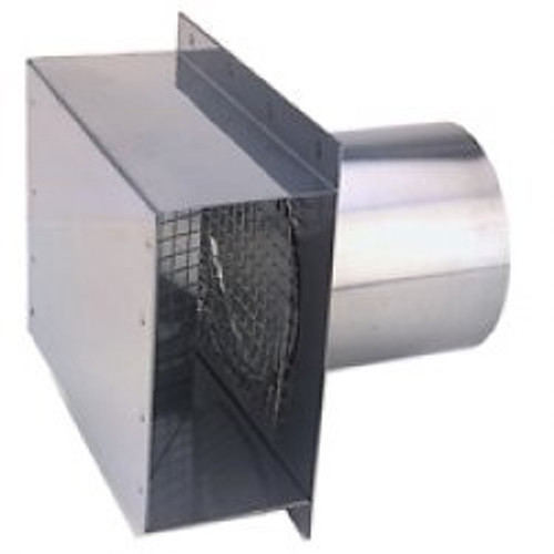 "4"" Vent Termination Box Side View"