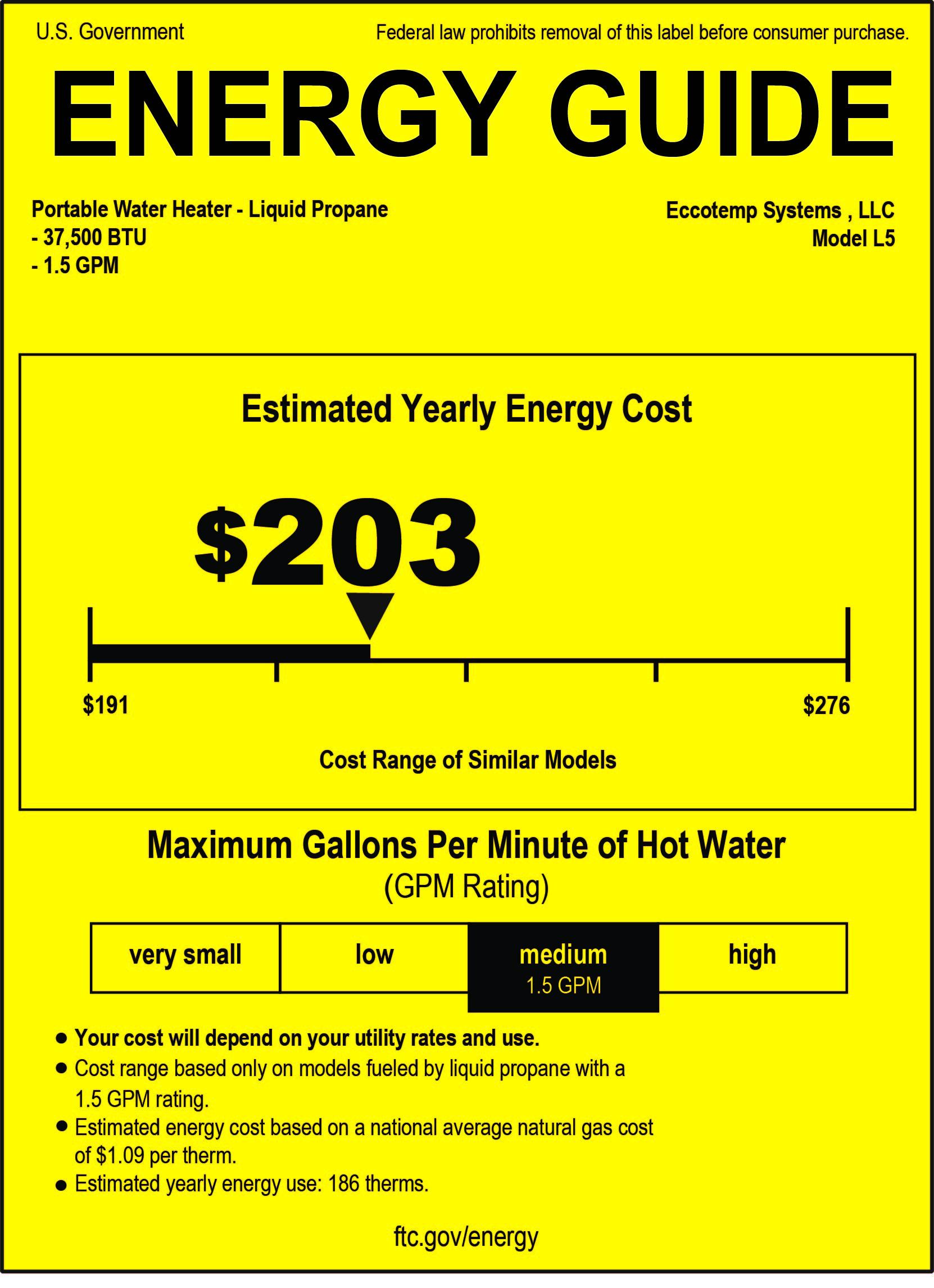 eccotemp l5 portable tankless water heater eccotemp tankless water