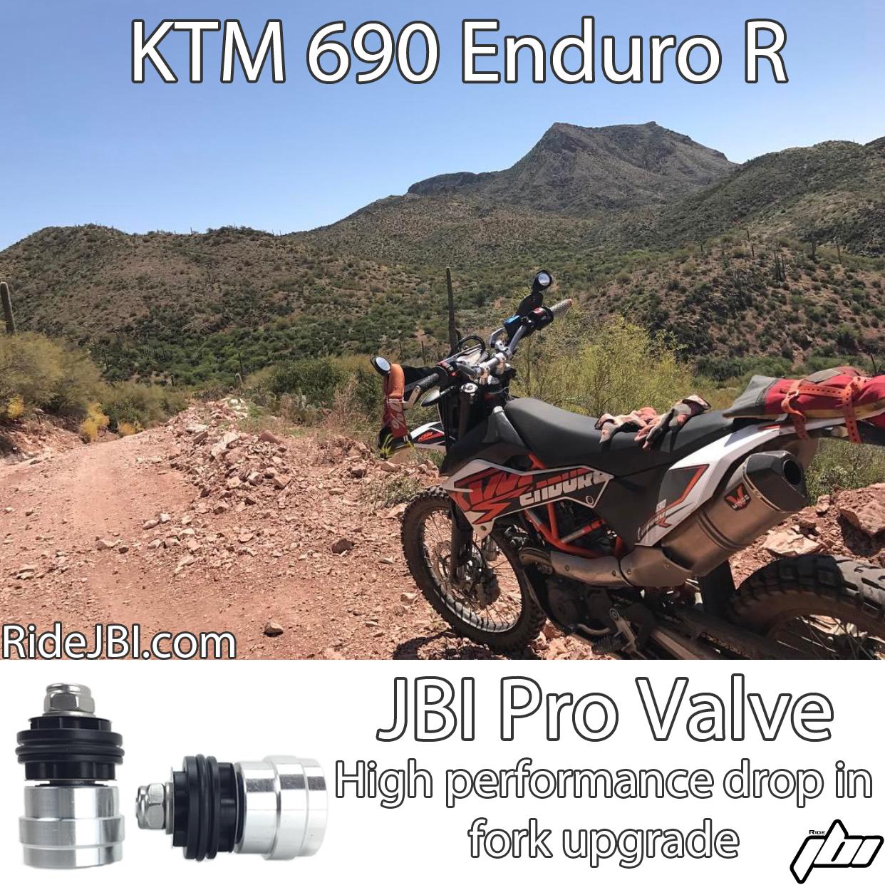 KTM 690 Enduro R JBI Suspension Pro Valve