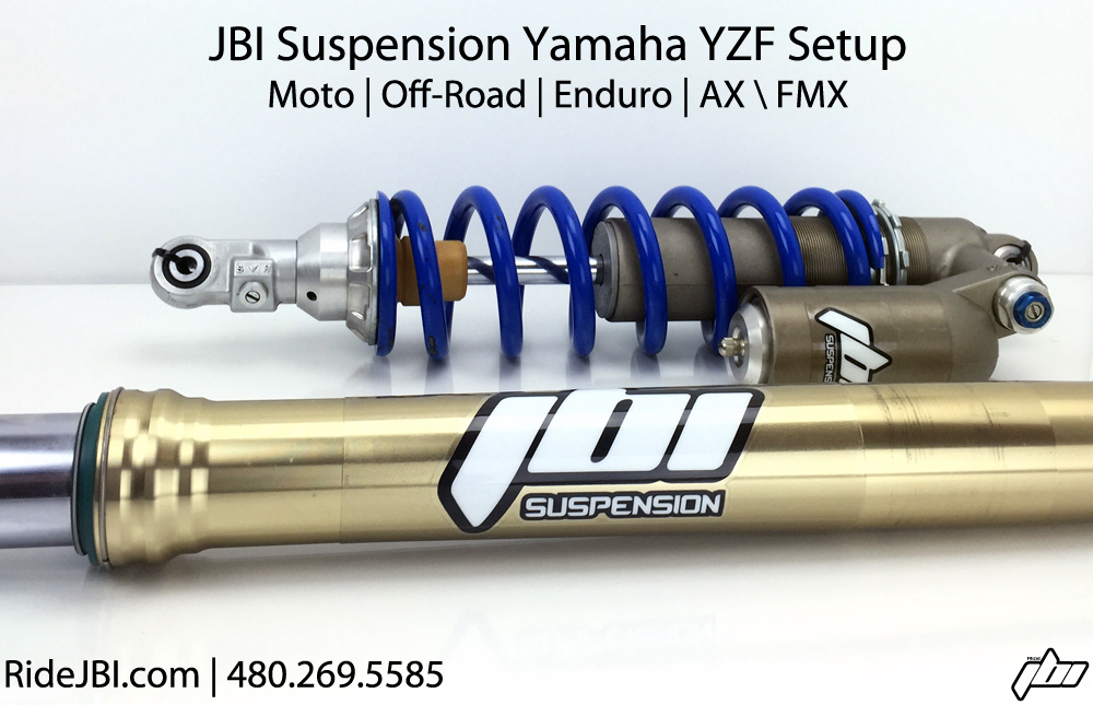 2020 Yamaha YZ250F Suspension services revalve rebuild reseal