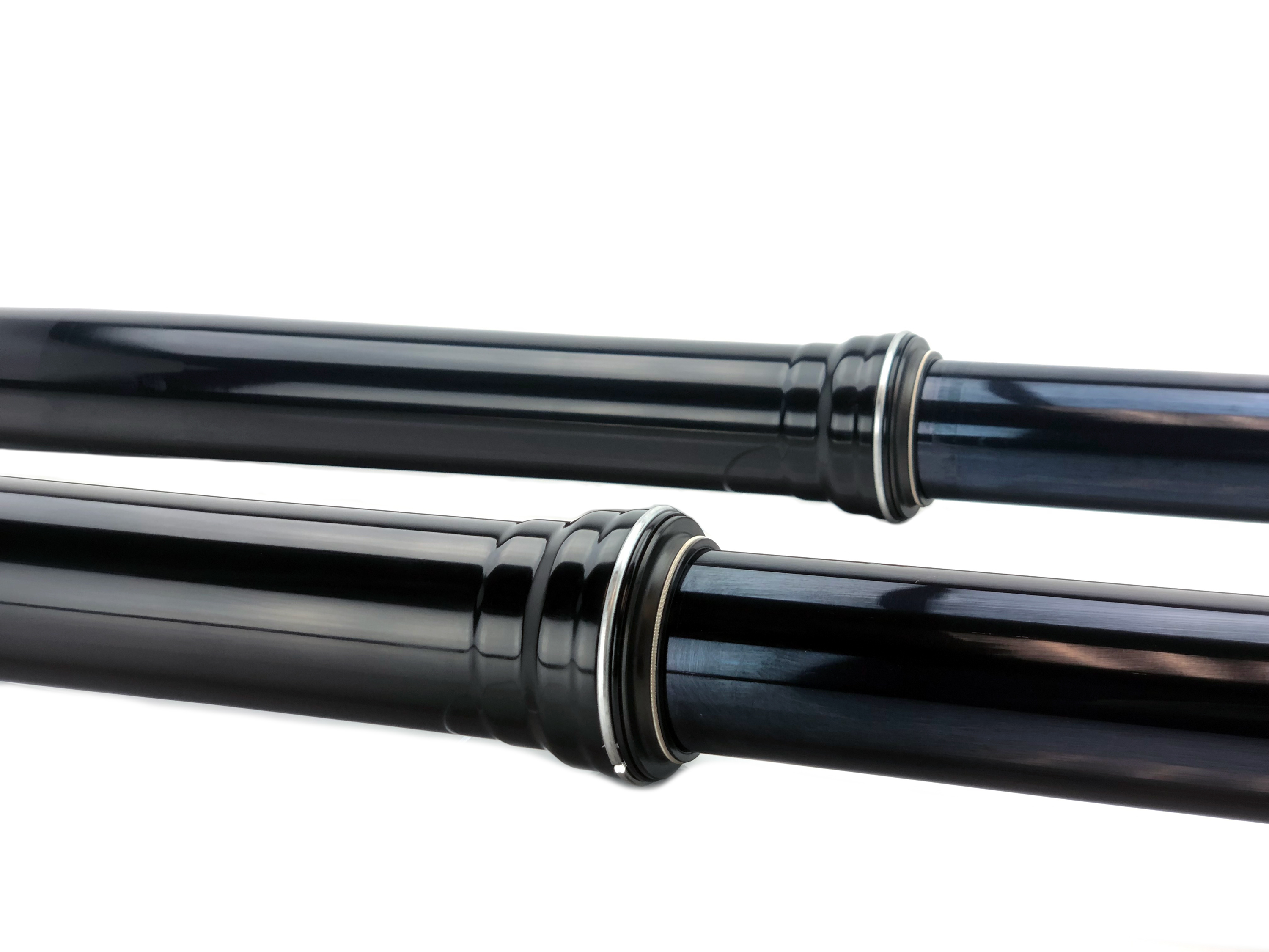 JBI Suspension hard anodize black outer fork tubes