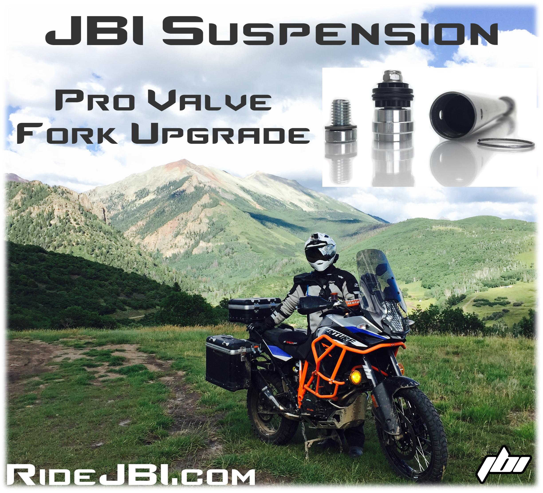 KTM 1190 Adventure R KTM 1290 Adventure R KTM 1090 Adventure R JBI Suspension Pro Valve
