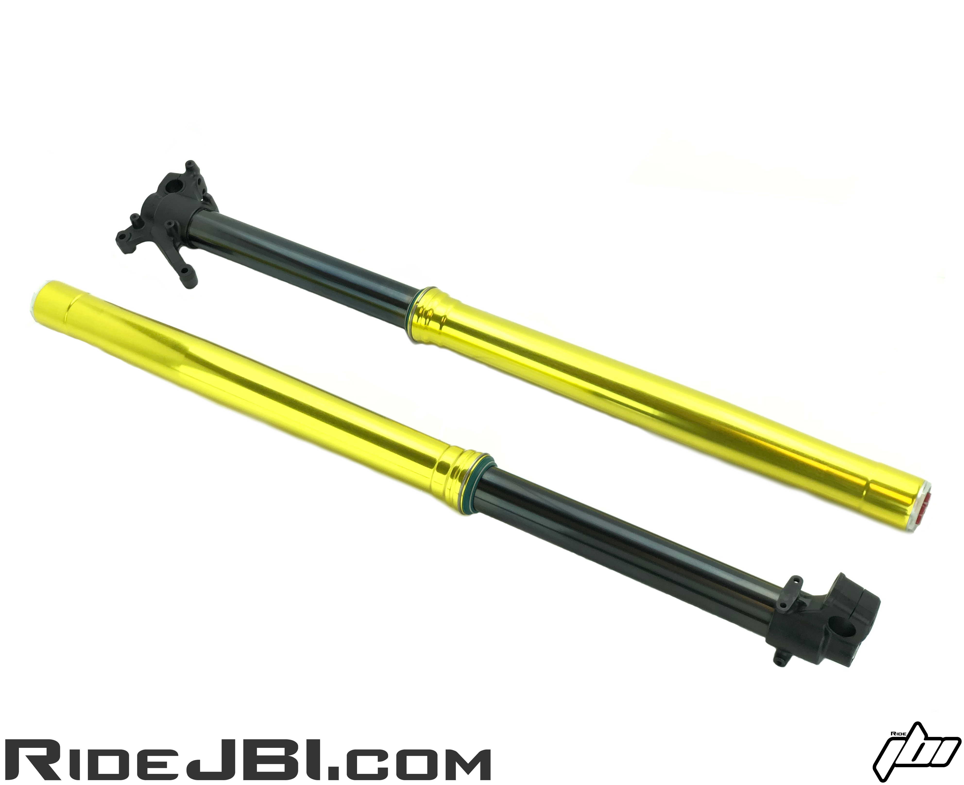 JBI Suspension hard anodize outer fork tubes