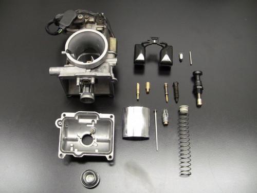 2 stroke motorcycle carburetor rebuild