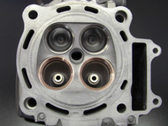 05 Honda CRF450 Cylinder Head (Stock seats top, Pro-1 Seats bottom)