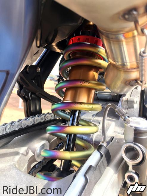 JBI Suspension Pro Shock WP Linkage with DLC shock shaft and Kashima coat shock body