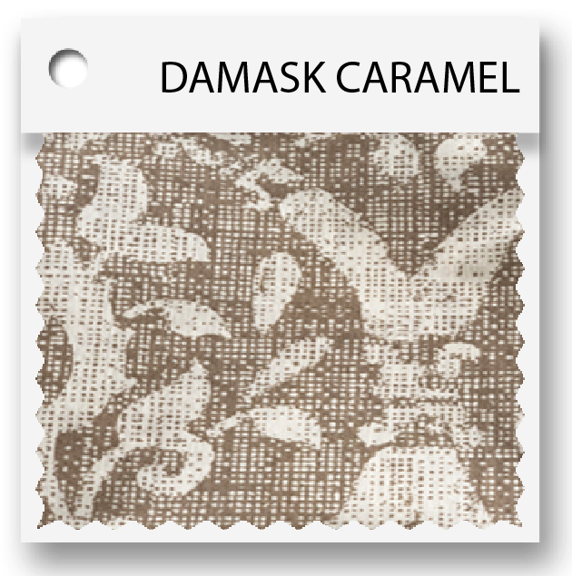 click here for damask caramel colored tablevogues