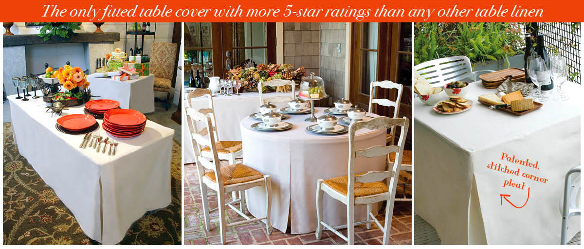 Attrayant Fitted Tablecloths, Finally | Tablevogue