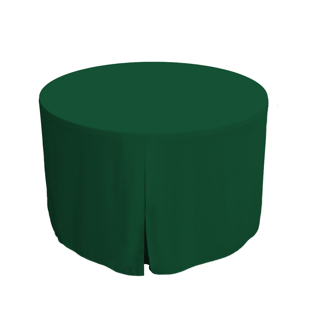 48inch fitted round table cover pine image 1 image 1 image 2