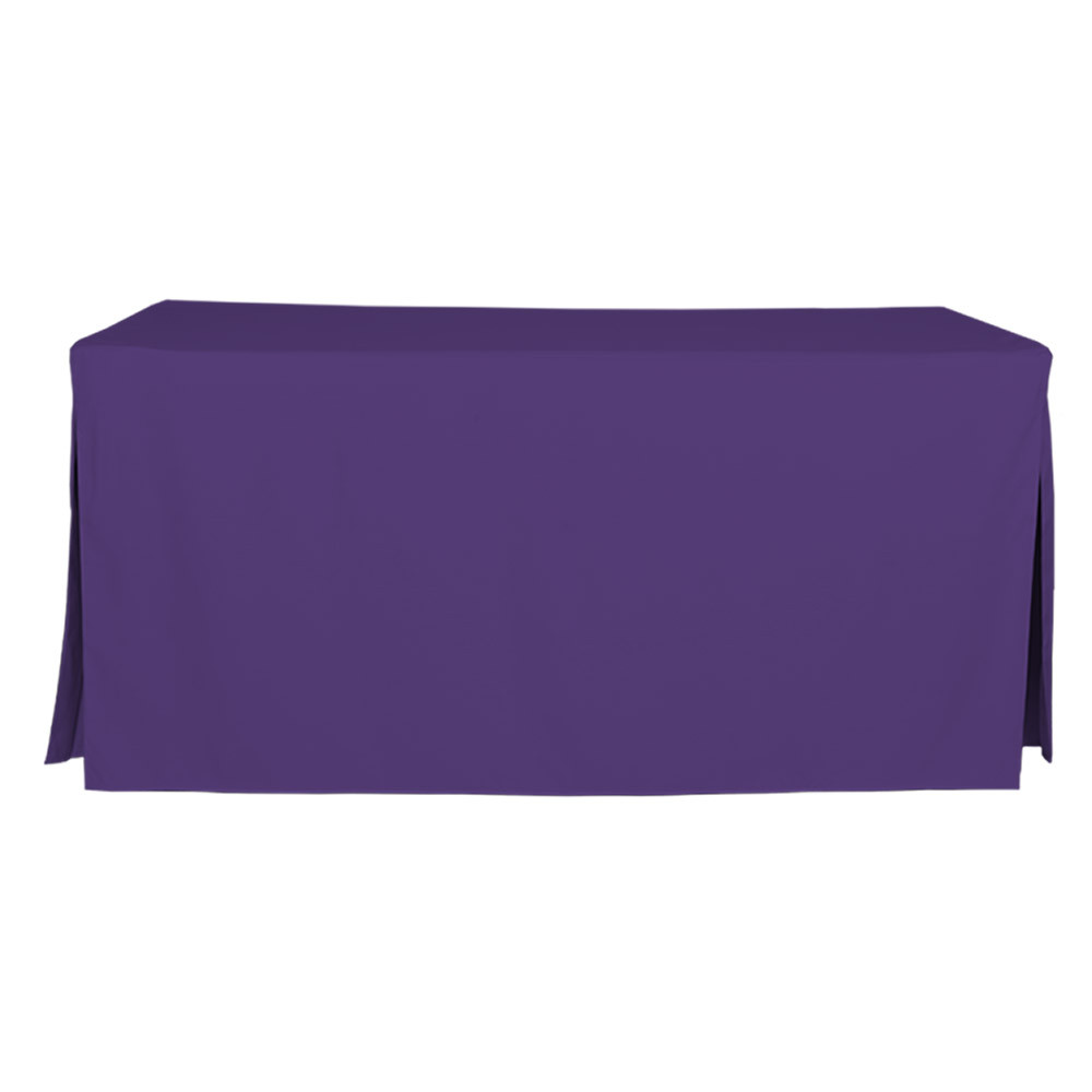 6 Foot Violet Table Cover