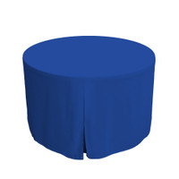 48-Inch Fitted Round Table Cover - Royale