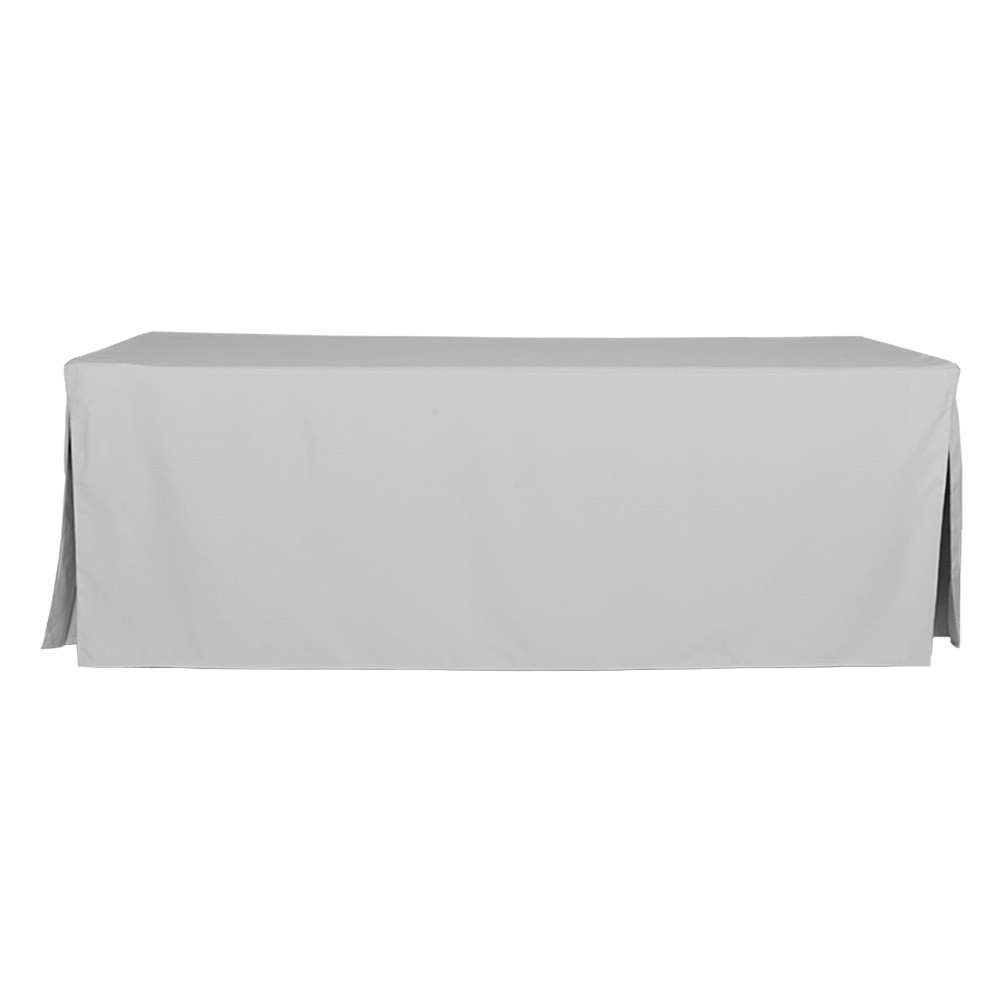8 Foot Silver Table Cover