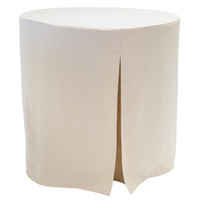 30-Inch Decorator Table Cover - Natural