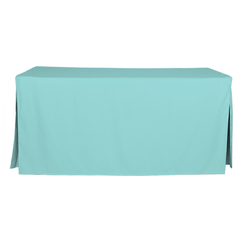 6 Foot Turquoise Table Cover