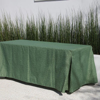 6-Foot Fitted Table Cover - Summer Green