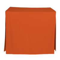 34-Inch Fitted Table Cover - Orange