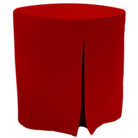 Red Fitted Table Covers Tablevouge