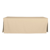 8-Foot Fitted Table Cover - Natural