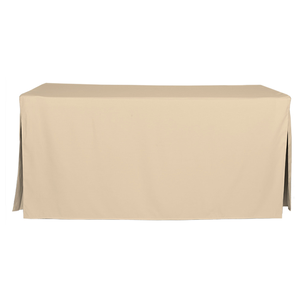 6 Foot Natural Table Cover