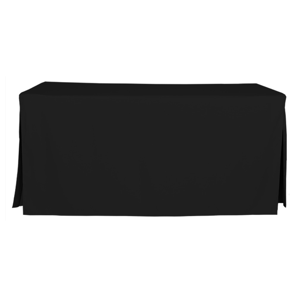 6 Foot Black Table Cover