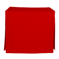 34-Inch Fitted Table Cover - Red